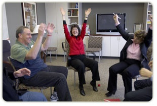 Cancer center recommends laughter as therapy!