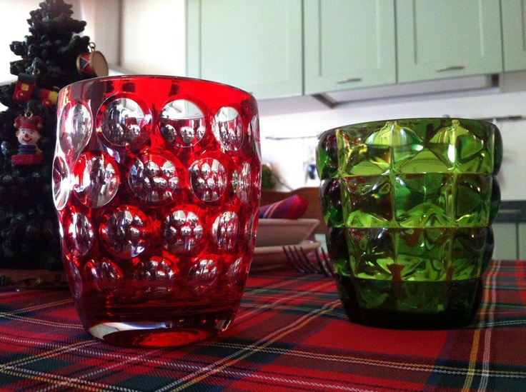 Just when you thought it was crystal ...  They're acrylic from Italy.  The entire Mario Luca Giusti collection includes stemware, candlesticks, trays, and barware. The Lente tumbler (pictured here in red) has been the blow-out hit of the summer for us. It's acrylic and dishwasher safe. Available at Protocol: Elements for Good Living  www.protocolgifts.com Toll-free: 877-796-9595