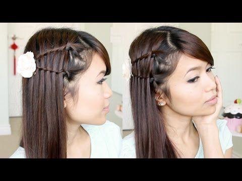 Double Waterfall Twist Hairstyle for Medium Long Hair Tutorial - Bebexo - YouTubeBraid Hairstyles, Braids, braids tutorial, braids for short hair, braids for short hair tutorial, braids for long hair, braids for long hair tutorials... Check more at http://app.cerkos.com/pin/double-waterfall-twist-hairstyle-for-medium-long-hair-tutorial-bebexo-youtube/