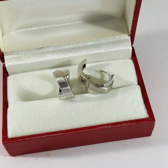 Creolen Ohrringe Ohrhänger Silber 925 edel SO280