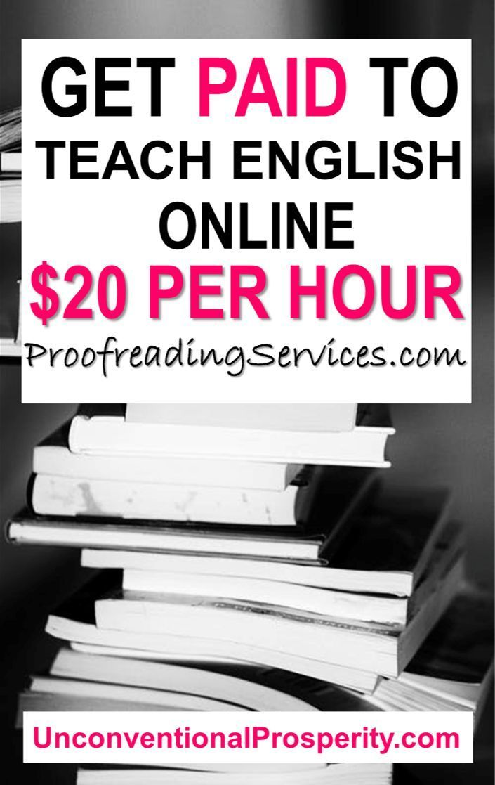 Work From Home As An Online English Tutor For Proofreadingservices Com Unconventional Prosperity Jobs For Teachers Online Tutoring Jobs Work From Home Jobs
