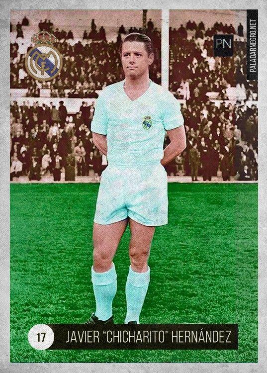 Chicharito Real Madrid retrô