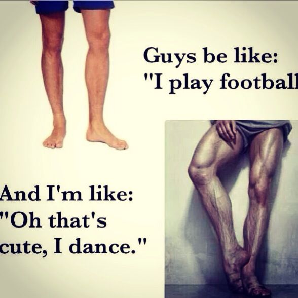 When people mock male dancers...<<< 0_o......you could CRUSH SKULLS with those thighs!  Men, what are you doing with yourselves?????