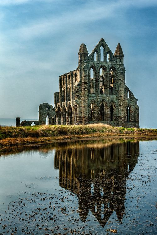 Reflection - Whitby Abbey