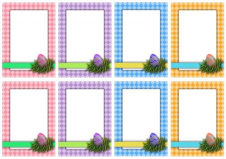 Easter Basket Hunt Blank