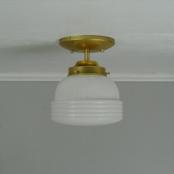 Small Deco Flush Mount Light