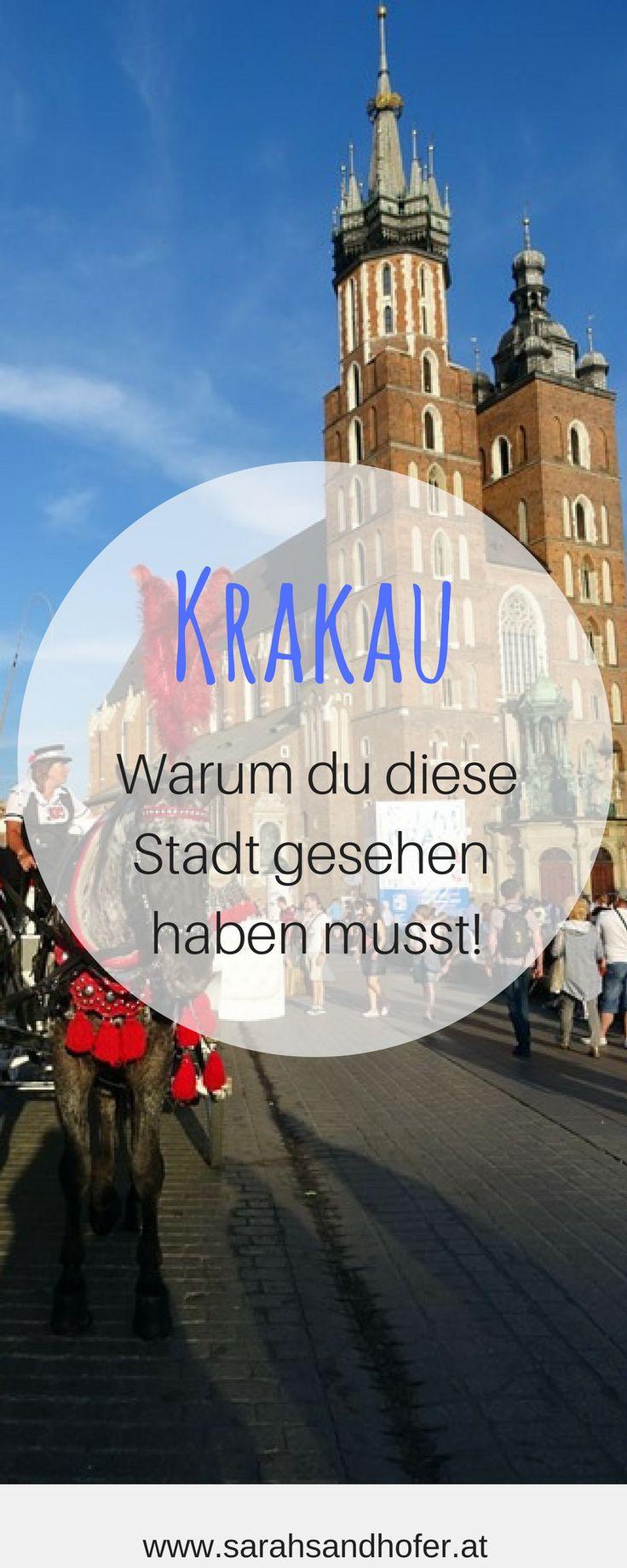 Krakau - warum du diese Stadt gesehen haben musst. Absoluter Geheimtipp für einen Städtetrip in Europa. Warum Krakau in Polen absolut eine Reise wert ist, kannst du hier nachlesen.