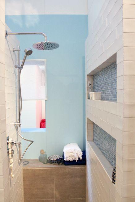 kleurencombi wit, grijsbruin en lichtblauw