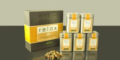 Every Day Is Relax, Para los momentos en que necesitas un respiro, un surtido de infusiones sin cafeína