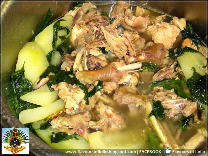 Iloilo Food Trip Native Chicken Tinola Philippine Cooking