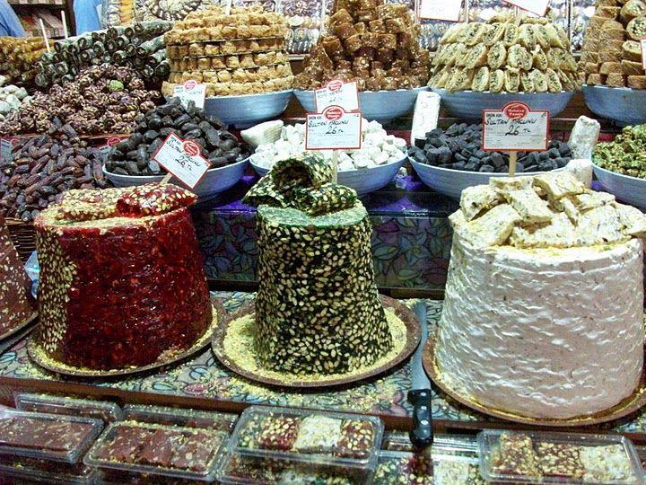 Turkish delight, Spice Bazaar, Istanbul