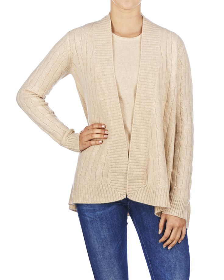 CABLE CARDIGAN # 14006