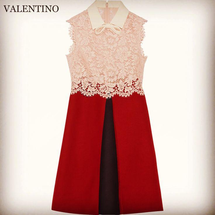 VALENTINO レンタルドレス ㅤㅤ Size IT38(7号) レンタル価格 17,500- (クリーニング代+安心保険込) ㅤㅤㅤㅤ 憧れのヴァレンティノのドレスで✨✨ トータルコーディネート✨✨ㅤㅤㅤ 自分もおしゃれを楽しみながら♪お友達の結婚式をより華やかにお祝いしちゃいましょう♪ ㅤㅤ 鮮やかながらも上品で落ち着いた雰囲気の色使いの#レース に#ボックススカート のデザインがとても素敵なワンピースドレスです✨✨ ㅤ リボン付きの襟とスカートのプリーツの内側の違ったカラーが見えるデザインがチャームポイントになっています ㅤㅤ お気軽にお問い合わせ下さい