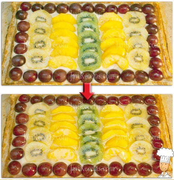 Decorar Tarta con Frutas Frescas