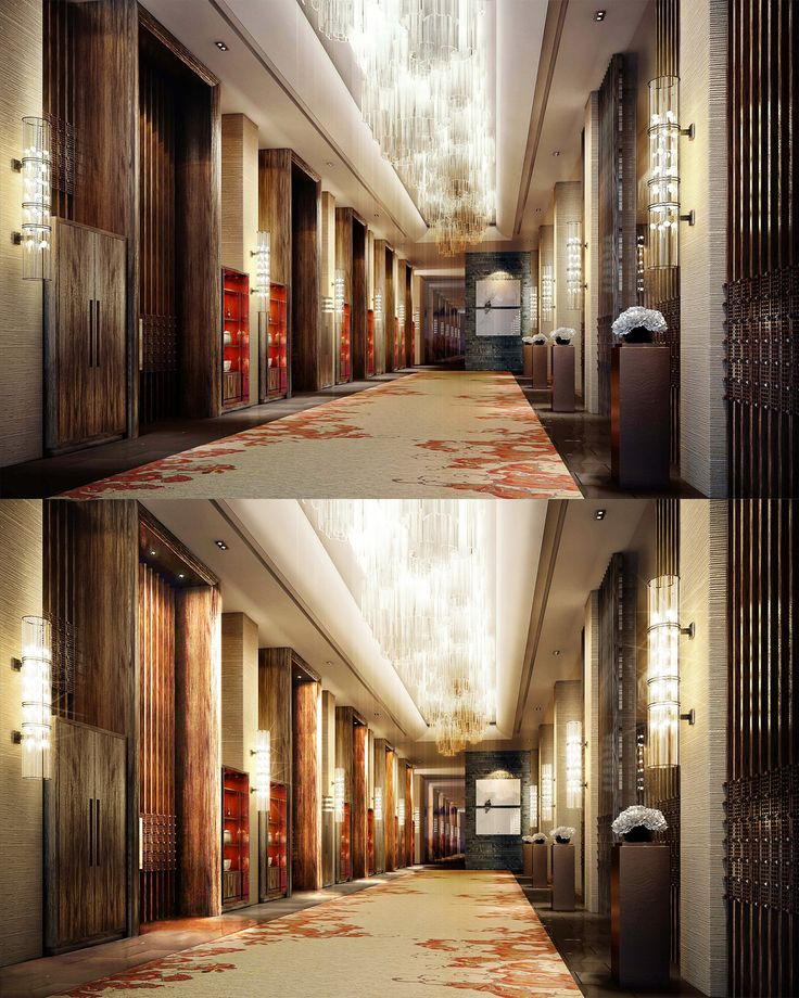 Interior Lighting Design Project For The Propose Marriott Hotel In China