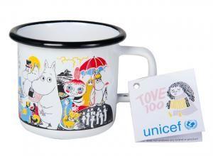 Muumi Tove 100 Unicef keräilymuki, 3,7dl. 13,50€