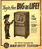 Remember your first TV?
