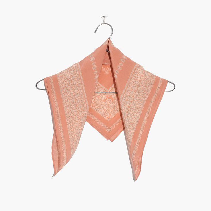 Madewell Womens Silk Bandana