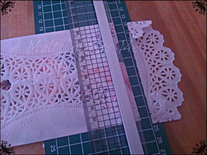 How to make Shabby Chic Doily Invitations | A Multifarious Me