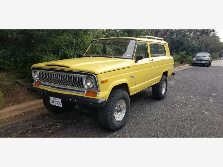 1976 Jeep Cherokee 4wd 2 Door For Sale Near Austin Texas 78716
