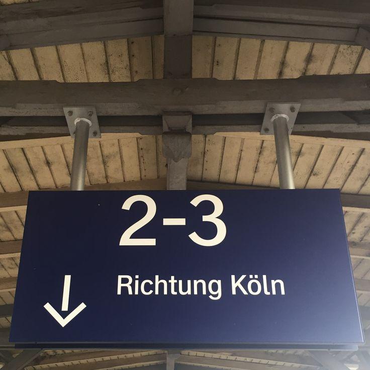 Was tun, wenn die Bahnverbindung zwischen Bonn und Köln mal wieder gestört ist?