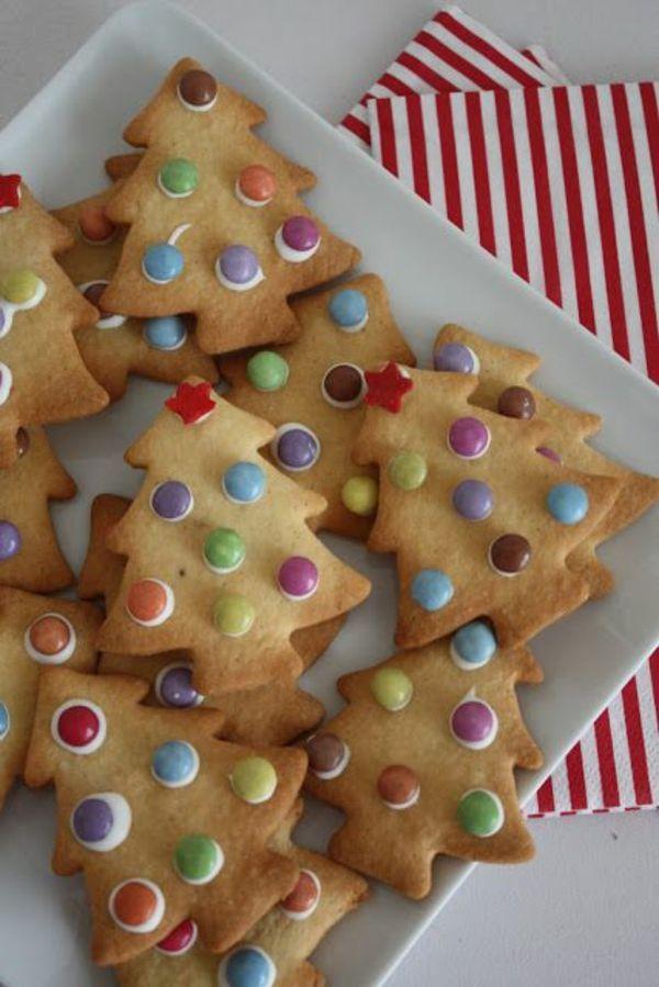 Weihnachtsplätzchen einfach – Weihnachtsarrangements und Ideen mit Leckerbissen
