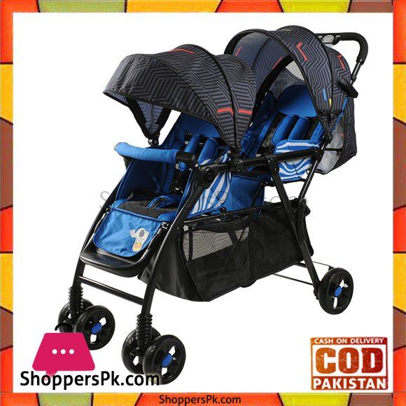 On Sale: High Quality Twins Baby Stroller Double Seat Red And Blue -705 in Pakistan Price Rs. 8840 https://www.shopperspk.com/product/high-quality-twins-baby-stroller-double-seat-red-and-blue/