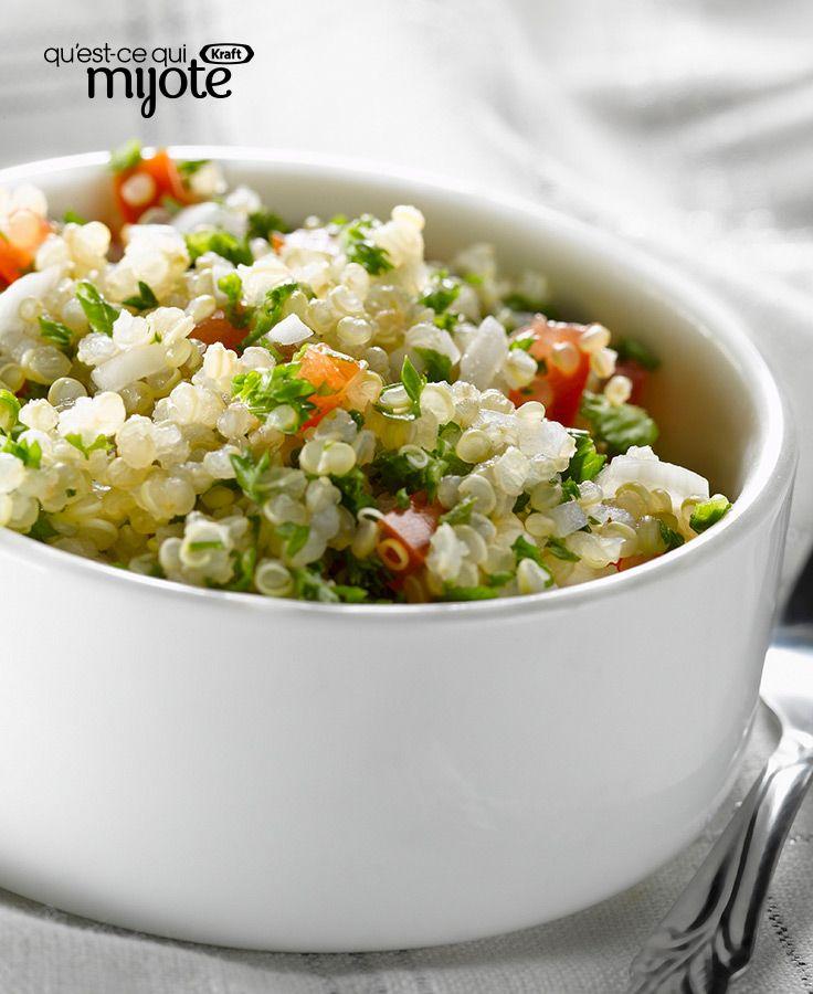 Salade César au quinoa #recette