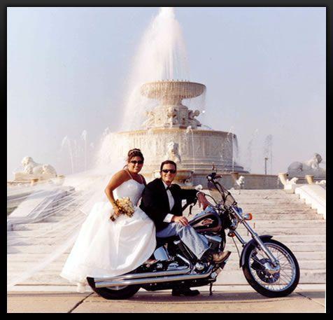 biker wedding ideas | Weddingzilla: Biker Motorcycle Wedding Theme