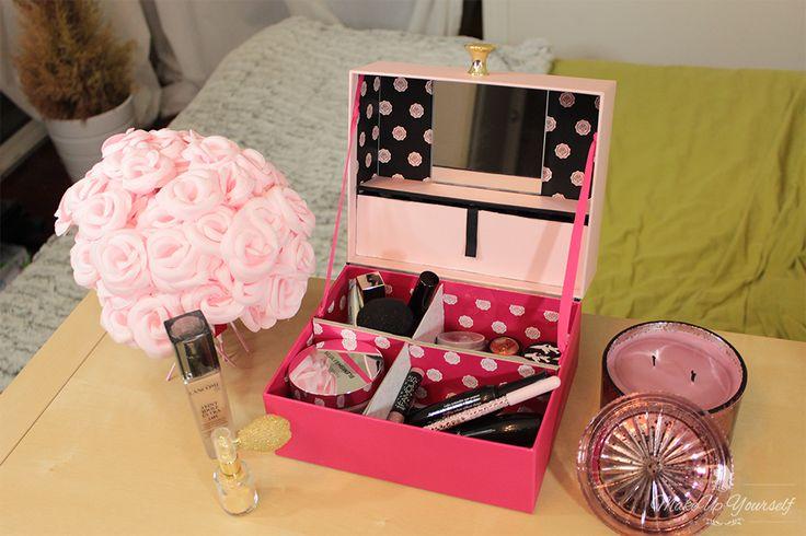 Tuto Rangement maquillage : Une boite pratique avec 2 GlossyBoxs ! - Yearn Magazine