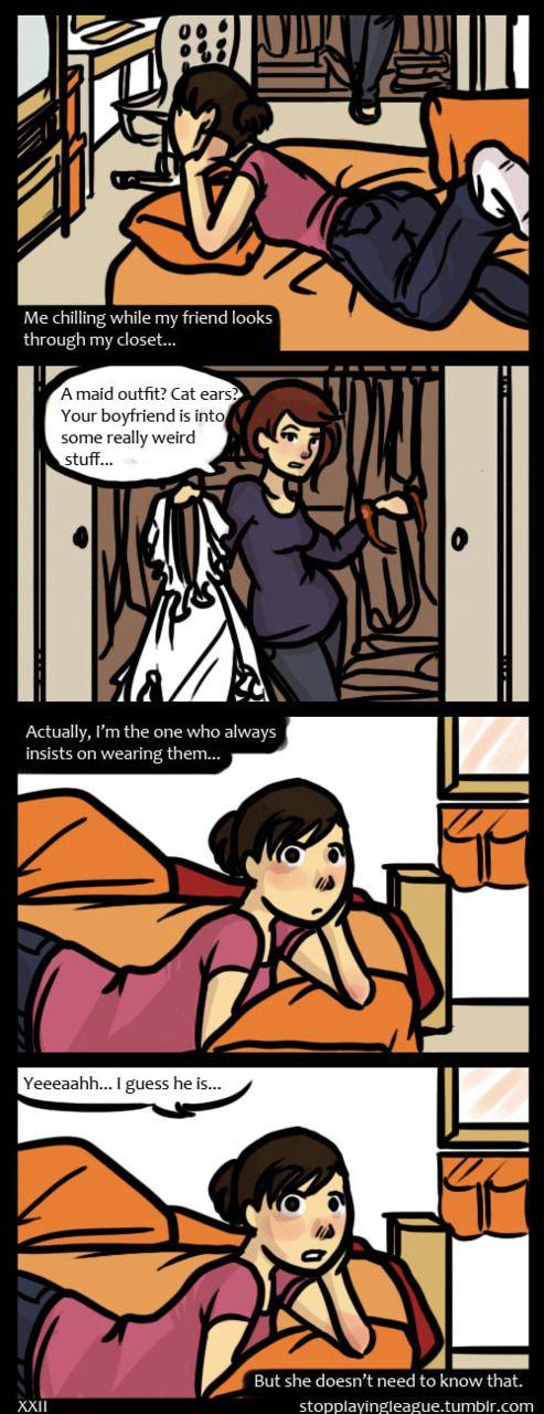 Gamer Girlfriend Comic Those Comics | love | ...