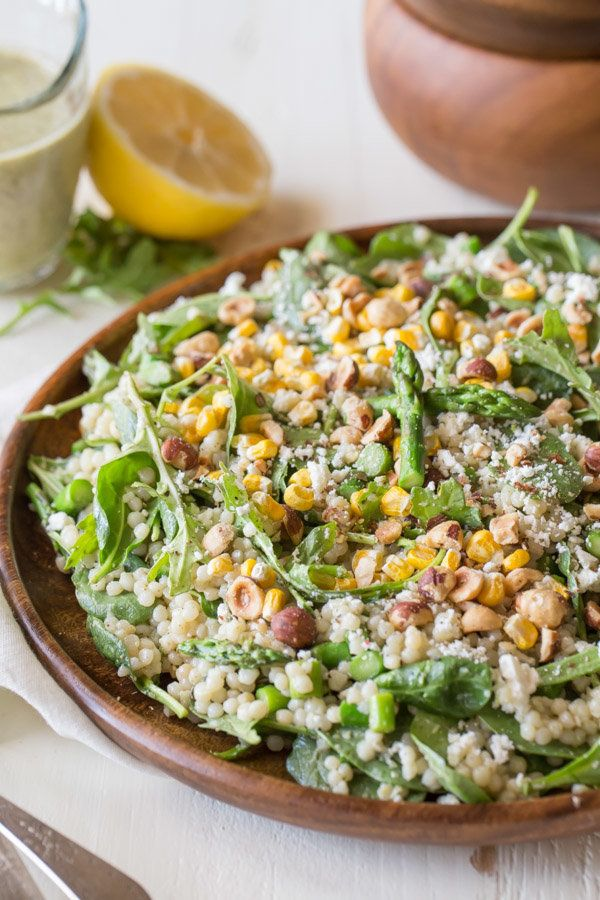 Looking for a healthy lunch option? Try this Stetson Salad with Pesto Buttermilk Dressing