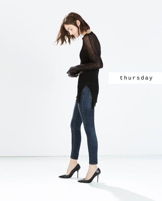 #zaradaily #thursday #woman #jeans #ss15