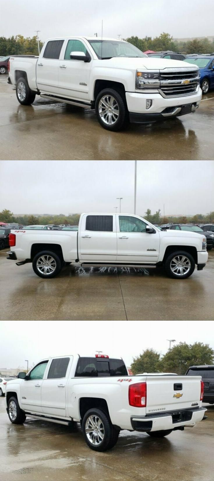Well Equipped 2016 Chevrolet Silverado 1500 High Country Crew Cab Silverado High Country Chevy Silverado High Country Chevrolet Silverado 1500