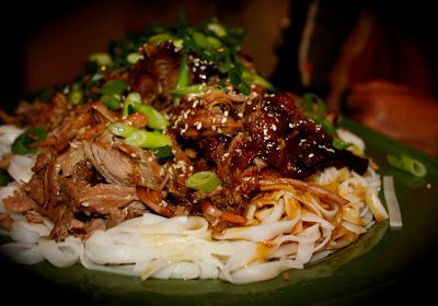 Slow Cooked Sticky Asian Lamb