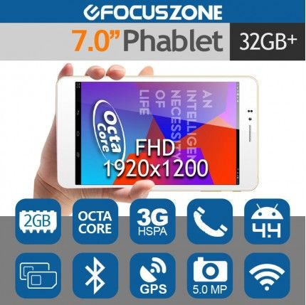 """7"""" Ainol Note7 FHD Tablet Phone Android 4.4 Octa Core 5MP GPS 2G/32G"""