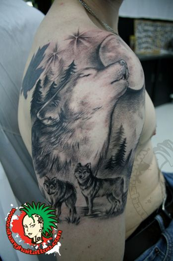 We are a Tattoo Studio in Shanghai, China. We do Tattooing, Body Piercing and Body Modification. We provide a fully bilingual service, English and Chinese.