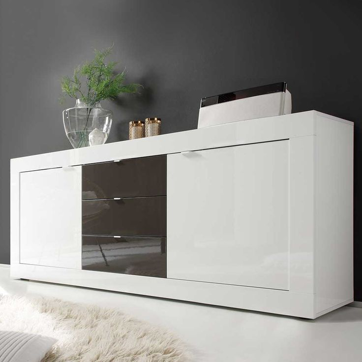 11 best Madie images on Pinterest Buffets, Credenzas and Food buffet - schrank wohnzimmer weiß