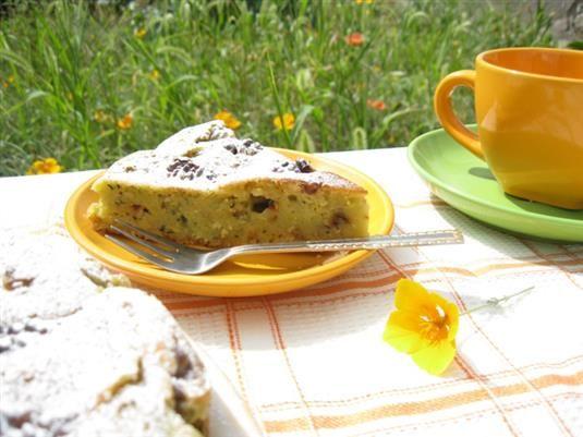 Пирог из цукини с орехами - пошаговый фото-рецепт