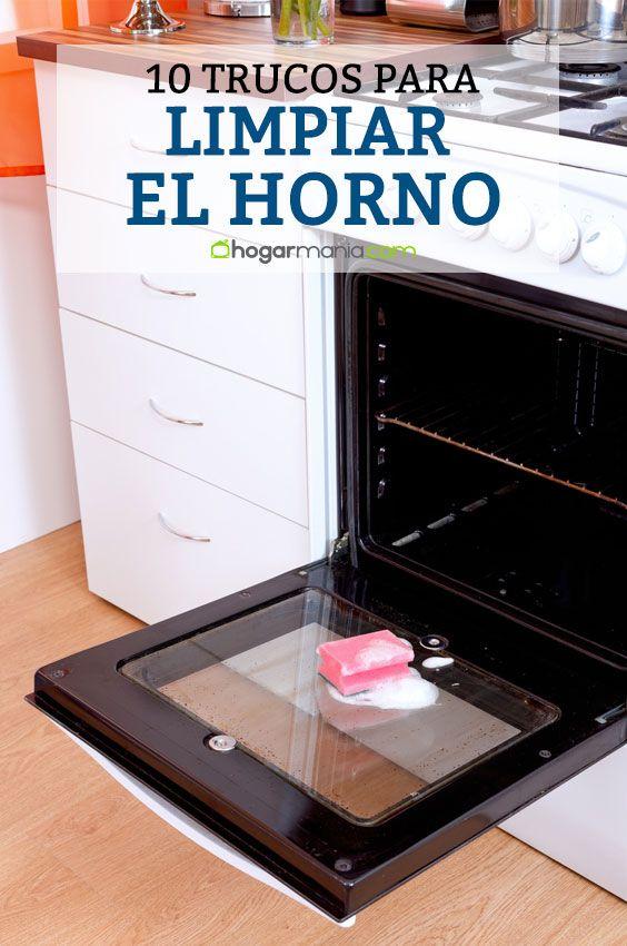 Trucos de limpieza para tú horno