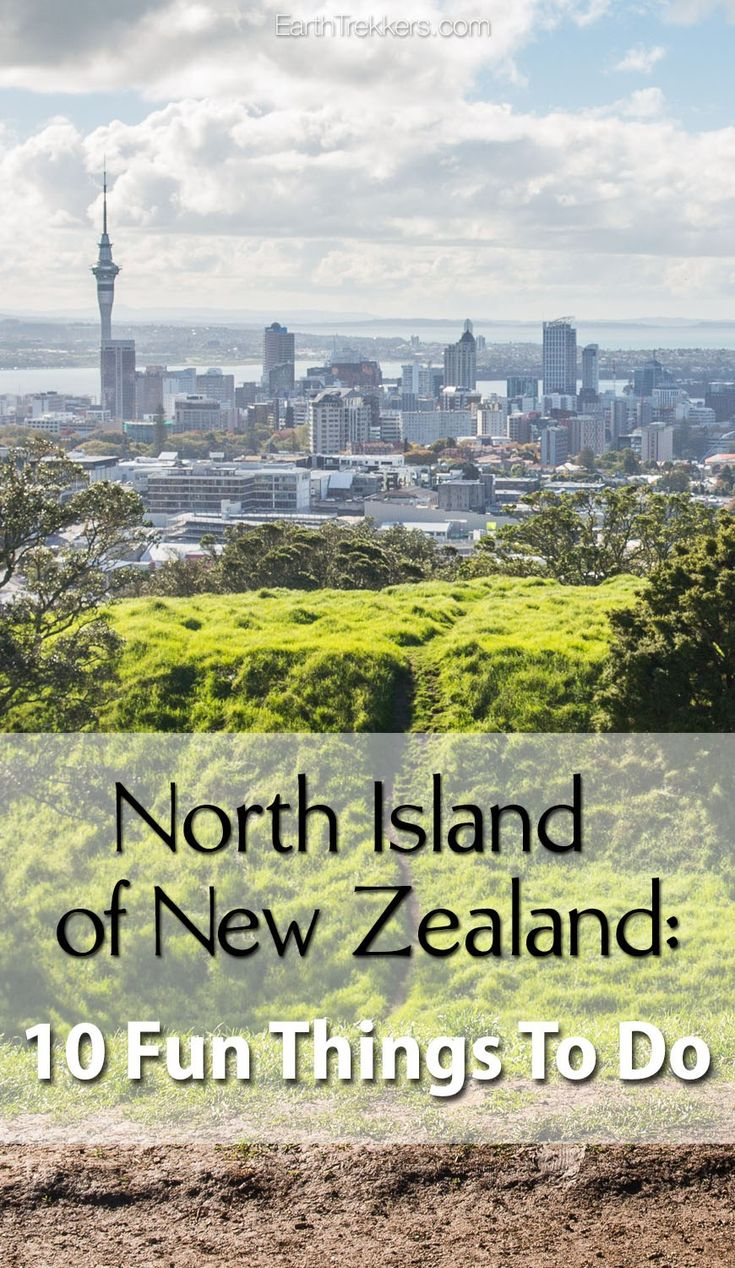 Things to do on the North Island of New Zealand with kids. Hobbiton | Glowworm Caves | Tongariro | Auckland | Taupo