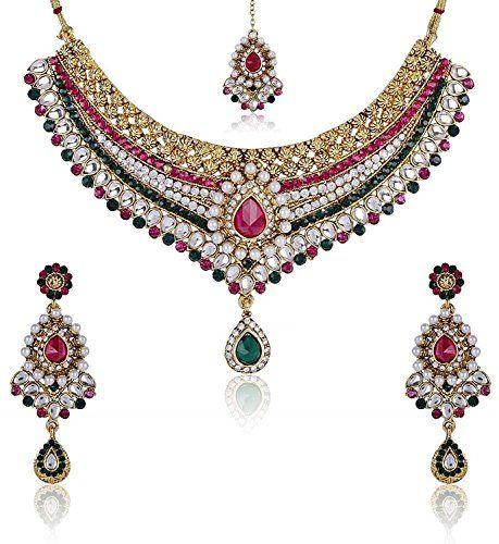 VVS Jewellers Indian Bollywood Fashion Pink & Green Stone... https://www.amazon.com/dp/B071WRM1WX/ref=cm_sw_r_pi_dp_x_YjZvzbE9RYSK7