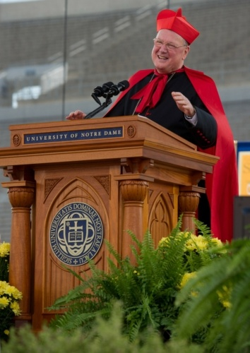 Great commencement speech by Cardinal Timothy Dolan