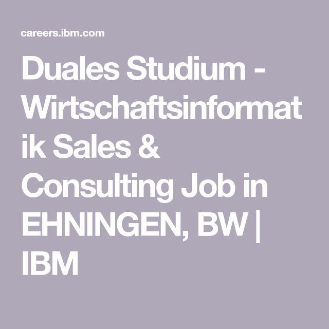 Duales Studium Wirtschaftsinformatik Sales Consulting Job In Ehningen Bw Consultancy Job Ideas Of Consultancy Job Co Job Job Search Children S Rights