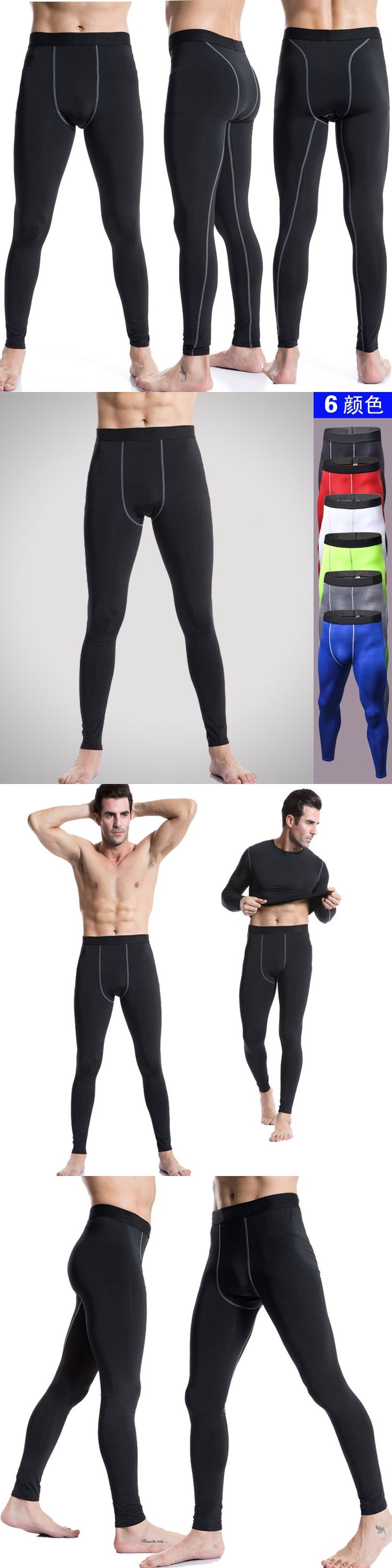 Men Compression Pants Skinny Sweatpants For Men Fashion Leggings Men Jogger Men Fitness Gyms Pants Elastic Trousers