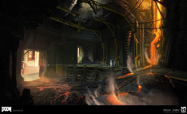 ArtStation - DOOM - Molten DLC, Colin Geller