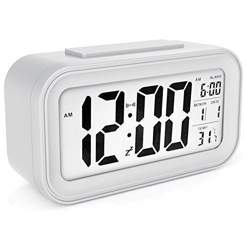 SINu0026MI TIAN-17 Digital Morning Clock Low Light Sensor Technology Light on Backlight When Detect  sc 1 st  Pinterest & 144 best alarm clock images on Pinterest | Radios Built ins and ... azcodes.com
