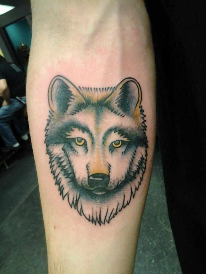 27 best images about tattoos by jack gribble on pinterest for Wolf head tattoos