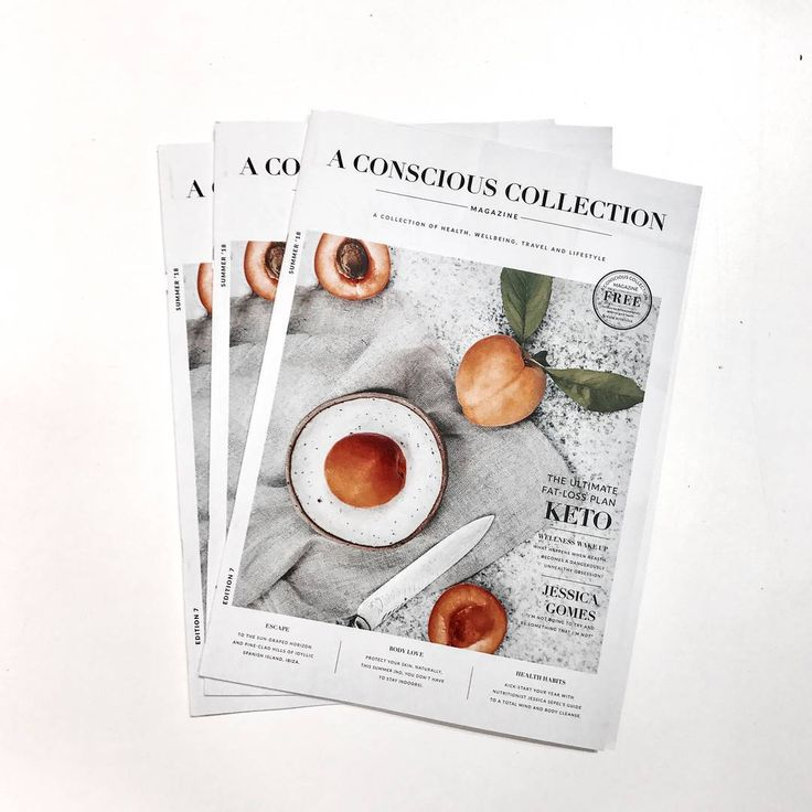 A Conscious Collection Magazine.    Publication / magazine design