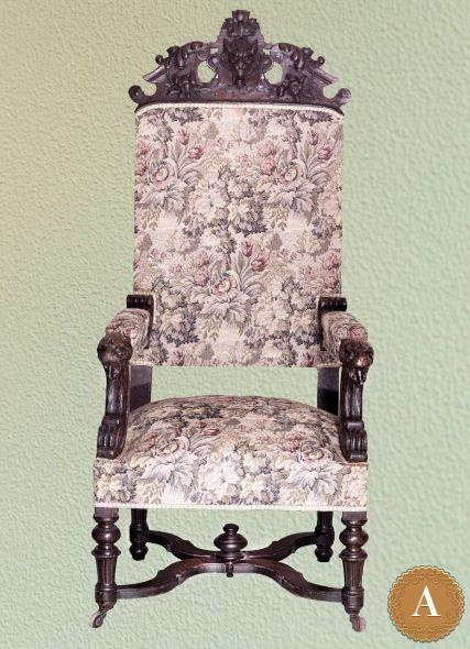 Кресло с гобеленом
